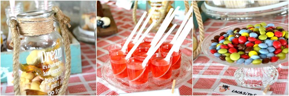 Mesa dulce granja / Farm party candy bar